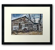 Downtown Essex Framed Print