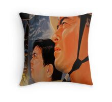 A glimpse of the popular past Throw Pillow