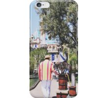 Bert In Disneyland  iPhone Case/Skin