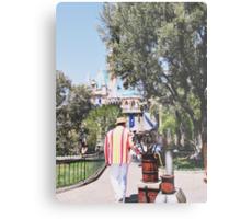 Bert In Disneyland  Metal Print