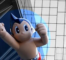 Astro Boy/ Atom Man -brave, gentle, wise by fenjay