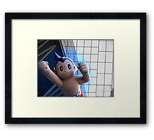 Astro Boy/ Atom Man -brave, gentle, wise Framed Print