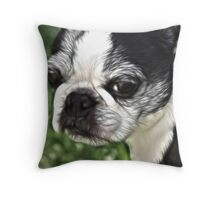 Luci in Fractalius Throw Pillow