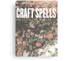 Craft Spells Canvas Print