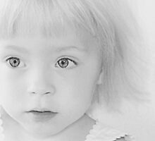 Eyes of a Child by Bodil Kristine  Fagerthun