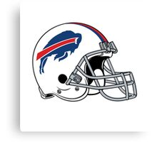 buffalo bills helmet Canvas Print