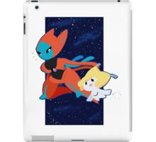 Pokemon - Jirachi and Deoxys iPad Case/Skin