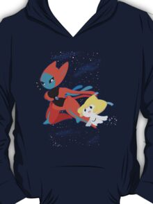 Pokemon - Jirachi and Deoxys T-Shirt