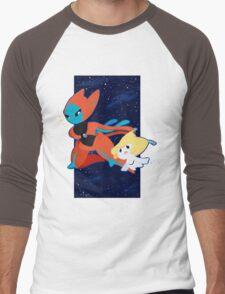 Pokemon - Jirachi and Deoxys Men's Baseball ¾ T-Shirt