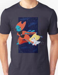 Pokemon - Jirachi and Deoxys T-Shirt