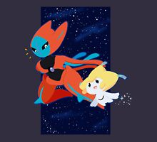 Pokemon - Jirachi and Deoxys Unisex T-Shirt