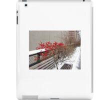 Red berries on the High Line iPad Case/Skin
