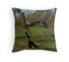 Red Kite Throw Pillow