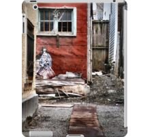 Back Alley in the Old Part of Town iPad Case/Skin