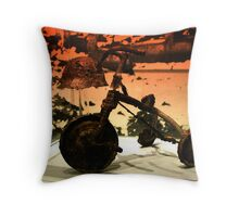 Cruel Remains of the Day Throw Pillow