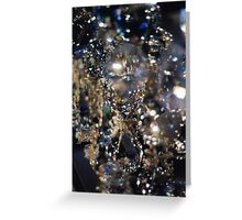 Glass Abstraction Greeting Card