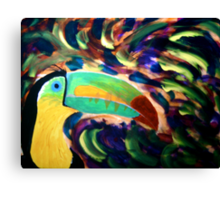 Keel Billed Toucan Canvas Print
