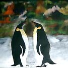 Conversing Penguins by George Hunter