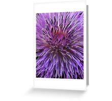 centaurea in fractalius  Greeting Card