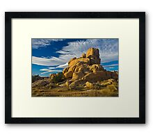 Joshua Tree National Park Christmas Framed Print