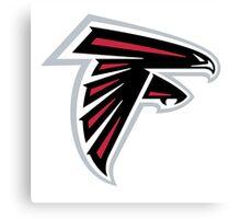atlanta falcons logo Canvas Print