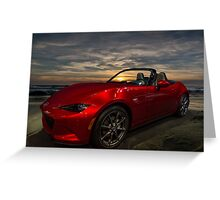 Miata 2016 Greeting Card