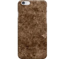 Sepia Oil Painting Color Accent iPhone Case/Skin