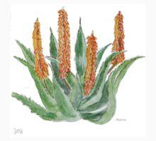Aloe ferox sketch One Piece - Short Sleeve