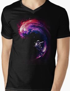 Space Surfing II Mens V-Neck T-Shirt