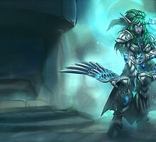 Tyrande - Heroes Of the Storm by MindxCrush