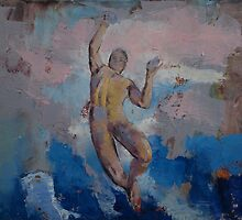 Lucifer Descending by Michael Creese