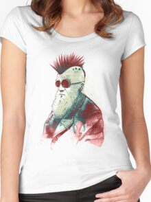 Evolution of Charles Women's Fitted Scoop T-Shirt