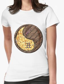 Sagittarius & Ox Yin Earth Womens Fitted T-Shirt