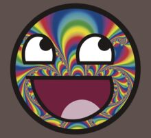AWESOME MEME FACE - Cool  EFFECT Kids Clothes
