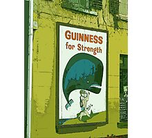 { guinness for strength } Photographic Print