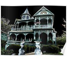 Wood-Hughes House, Brenham, Texas Poster