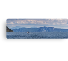 Lake Taupo from Kinloch beach Canvas Print