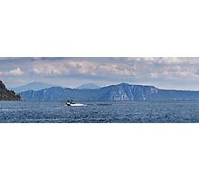 Lake Taupo from Kinloch beach Photographic Print