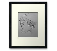Lost in thought Framed Print