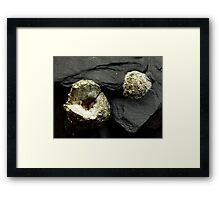 The Hidden Land – Earth In Miniature Framed Print