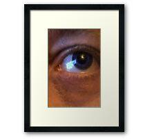 Eye of The Artist Framed Print