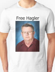 Free Hagler Unisex T-Shirt