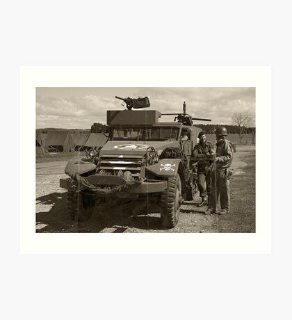 D-Day Build-Up Art Print