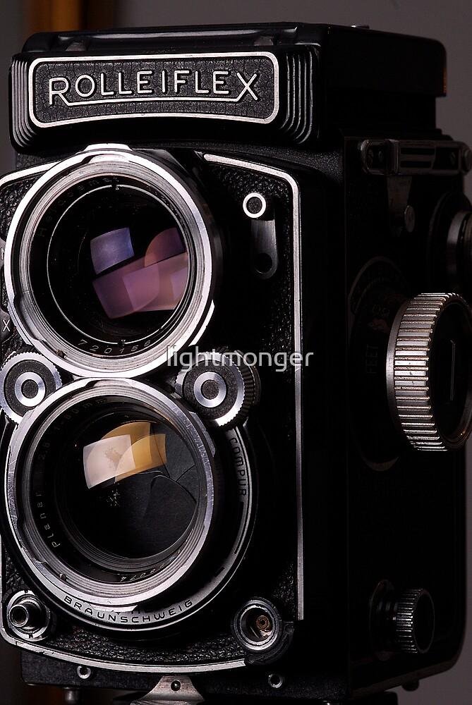 Rolleiflex TLR Camera by lightmonger
