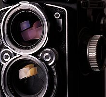 Rolleiflex TLR Camera by lightmonger