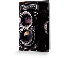 Rolleiflex TLR Camera Greeting Card