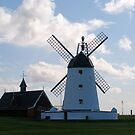 Lytham landmarks,lifeboat house and windmill by shakey