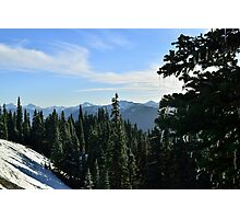 Hurricane Ridge, Olympic National Park, Washington Photographic Print