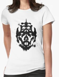 Inkblot Test, Verdict Psycho Womens Fitted T-Shirt
