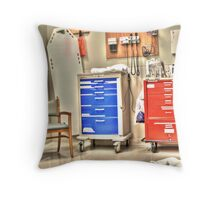 Trauma Room Throw Pillow